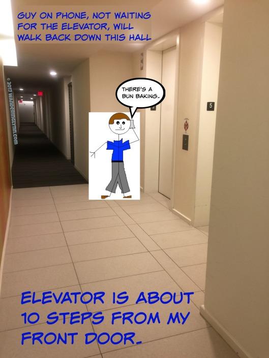 hallway conversation